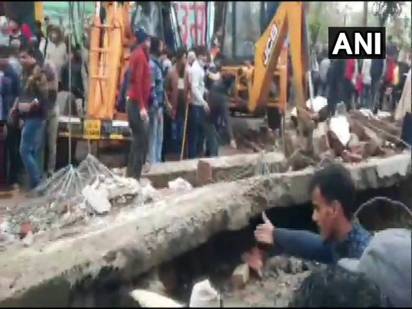 Roof of crematorium complex collapsedin Muradnagar