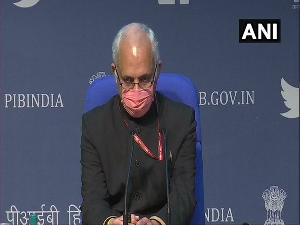 Manohar Agnani, Additional Secretary of Union Health Ministry (Photo/ANI)