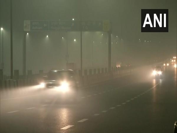 Visual of dense fog