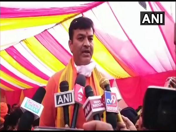 Uttar Pradesh state minister Anand Swaroop Shukla. (Photo/ANI)