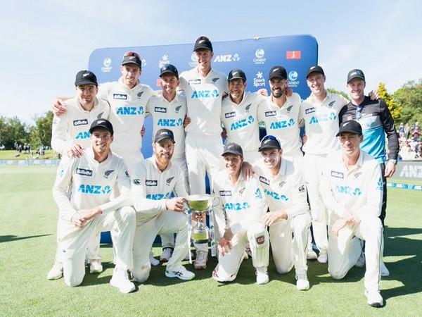 New Zealand team (Photo/ICC Twitter)