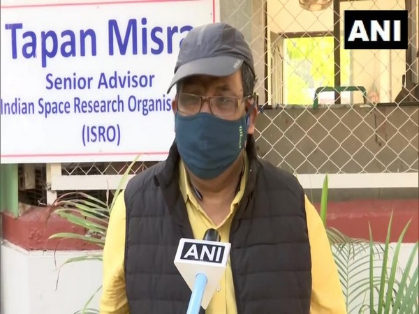 Senior Advisor ISRO Tapan Mishra speaking to ANI (Photo/ANI)