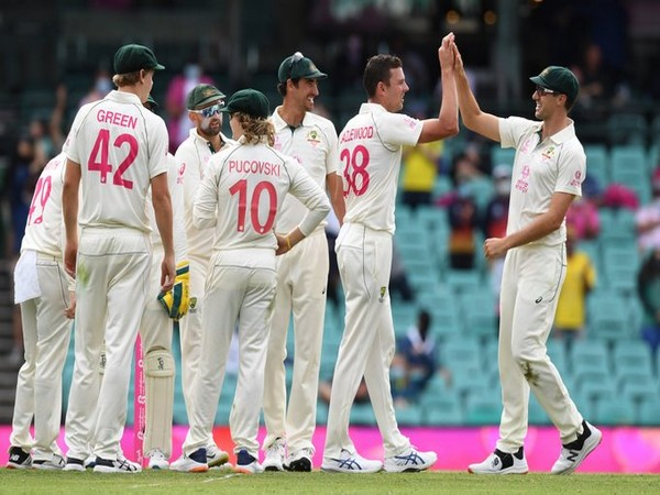 Australian cricket team (Photo/ ICC Twitter)
