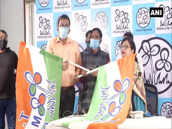 AIMIM leaders joined TMC in Kolkata (Photo/ANI)