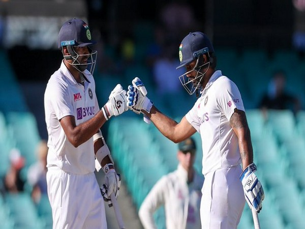 R Ashwin and Hanuma Vihari (Photo/ICC Twitter)