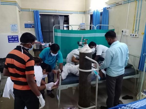 Union Minister Shripad Naik injured in accident near a village in Ankola Taluk of Uttara Kannada district (Photo/ANI)