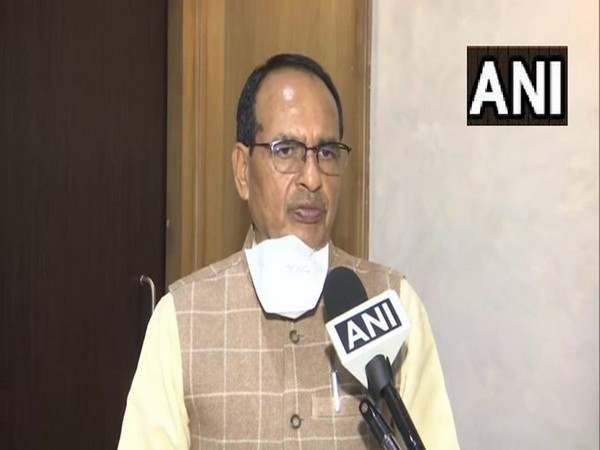 Madhya Pradesh Chief Minister Shivraj Singh Chouhan speaking to ANI on Tuesday.