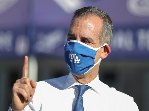 Los Angeles Mayor Eric Garcetti (Photo Credit - Reuters)