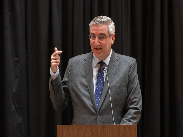 Governor of the US State of Indiana Eric Holcomb (File photo)