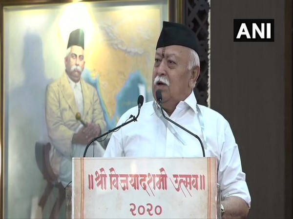 RSS Chief Mohan Bhagwat. (File photo)