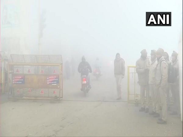 Visuals from the Tikri border in Delhi. (Photo/ANI)