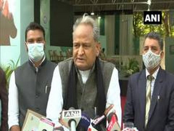 Rajasthan Chief Minister Ashok Gehlot (File photo/ANI)