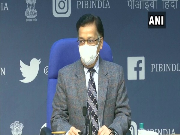 Union Health Secretary Rajesh Bhushan (Photo/ANI)