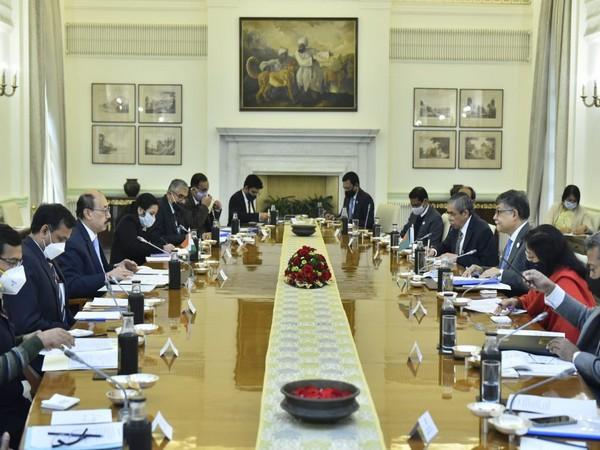 India Foreign Secretary Harsh Vardhan Shringla and Bangladesh Foreign Secretary Ambassador Masud Bin Momen held Foreign Office Consultations (FOC) on Friday. (Twitter/Anurag Srivastava)
