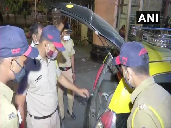 Mumbai Police is on high alert following blast near Israel Embassy in Delhi [Photo/ANI]