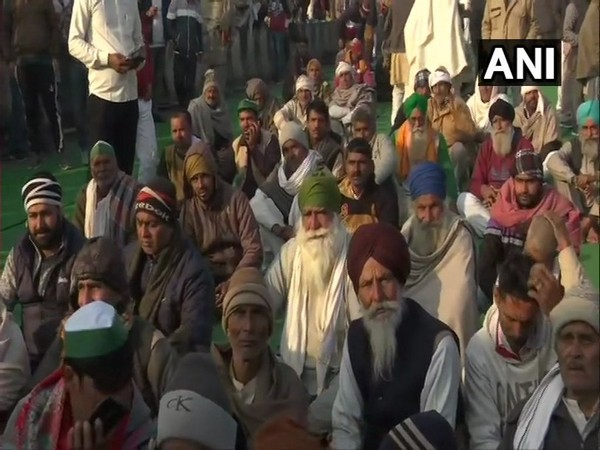 Protests continue at Ghazipur border against farm laws