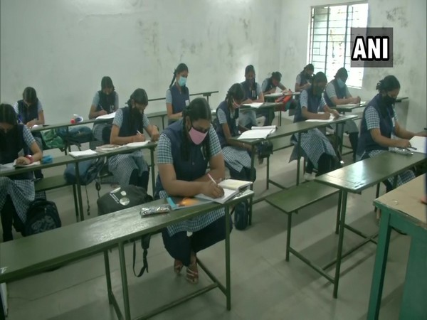 Schools reopen for class 10, 12 students in Chennai