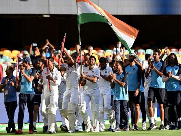 Indian cricket team (Image Source: Sachin Tendulkar's Twitter)