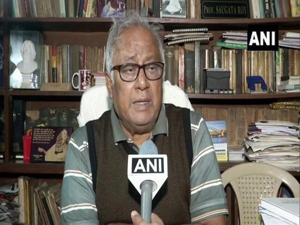 TMC MP Saugata Roy speaking to ANI