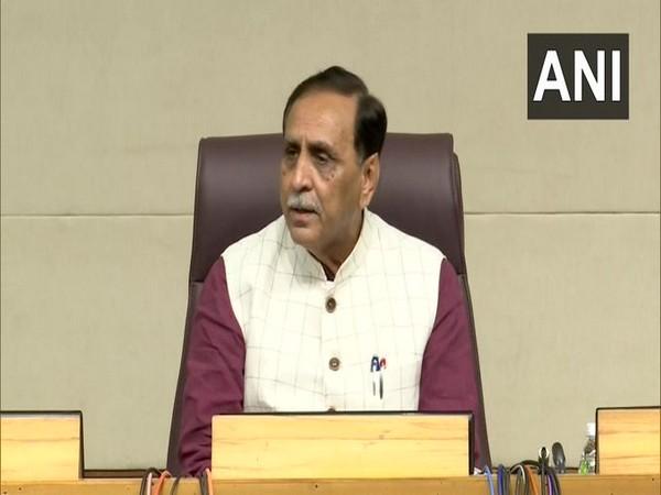 Gujarat Chief Minister Vijay Rupani (Photo/ANI)