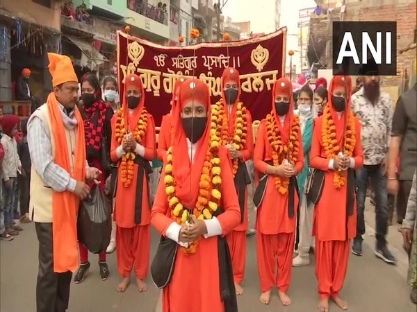 'Nagar Kirtan' organised in Patna.