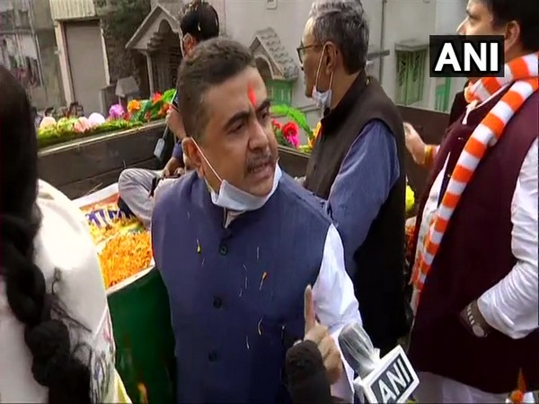 Bharatiya Janata Party leader Suvendu Adhikari (Photo/ANI)