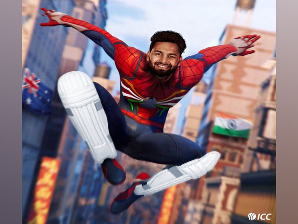 Wicket-keeper batsman Rishabh Pant (Photo/ ICC Twitter)