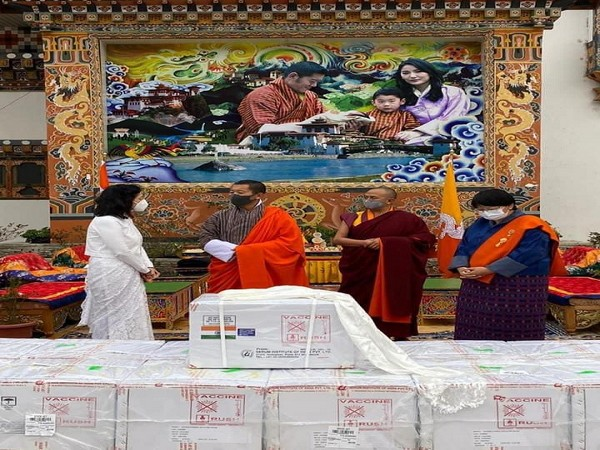 First consignment of COVID-19 vaccine from India arrives in Paro valley, Bhutan (Photo Credit: Twitter/ Tshering Tobgay)
