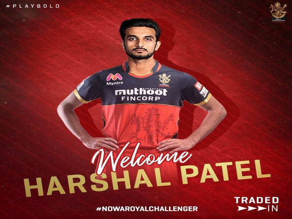 Harshal Patel joined RCB from DC. (Photo/ RCB Twitter)