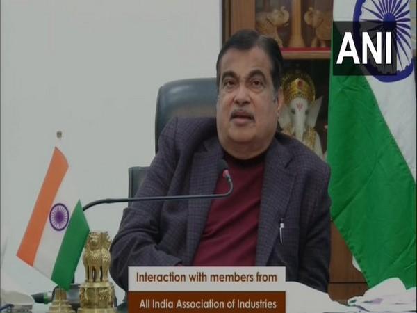Union Minister of Micro, Small and Medium Enterprises Nitin Gadkari (Photo/ANI)