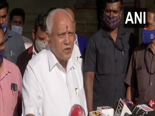Karnataka Chief Minister BS Yediyurappa (Photo/ANI)