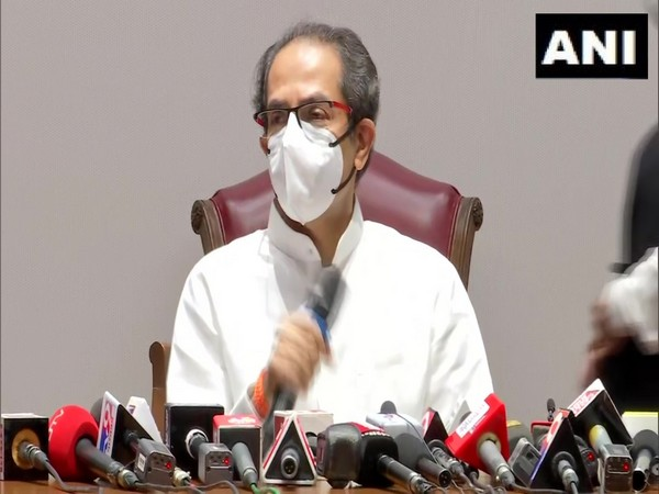 Maharashtra Chief Minister Uddhav Thackeray. (Photo/ANI)