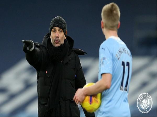 Pep Guardiola (Photo/ Manchester City Twitter)