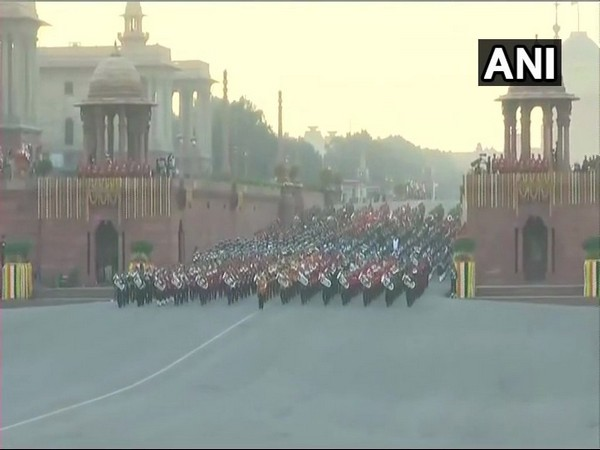 Visual of an earlier Beating the Retreat ceremony [File Photo]
