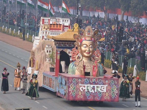 Tableau of Ladakh for Republic Day parade