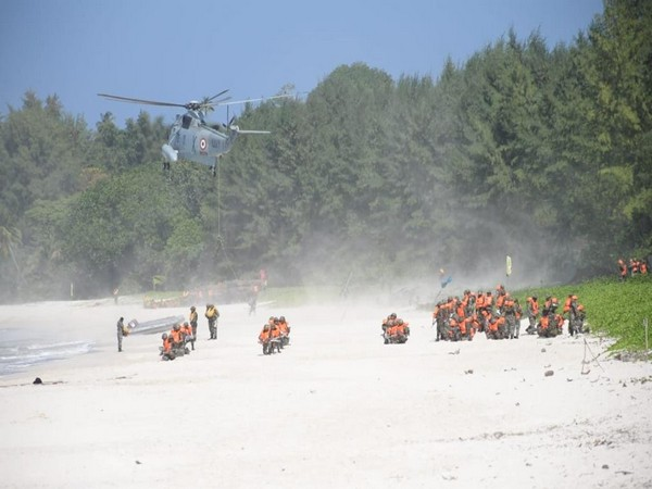 The exercise was conducted under the aegis of Andaman and Nicobar Command.