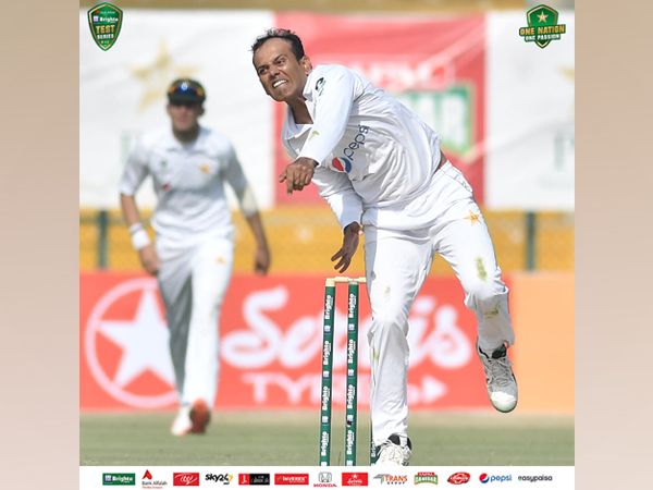 Pakistan spinner Nauman Ali (Photo/ PCB Twitter)