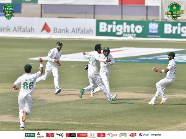 Pakistan Test players (Photo/ PCB Twitter)