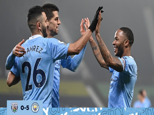 Manchester City now have 41 points from 19 games. (Photo/ Manchester City Twitter)