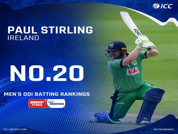 Paul Stirling (Photo/ ICC Twitter)
