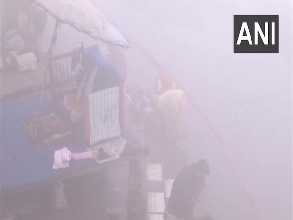 Hindu devotees took a holy dip in the Ganges River on the occasion of Paush Purnima at Varanasi
