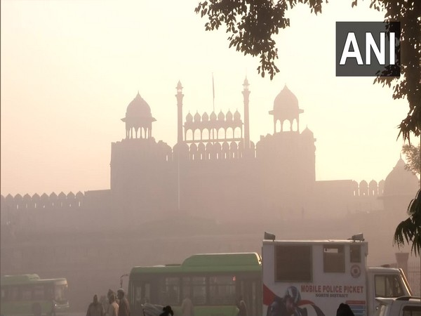 Visual from Red fort where security has been tightened. Photo/ANI