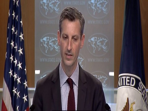 US State Department spokesperson Ned Price during a press briefing on Thursday (local time)
