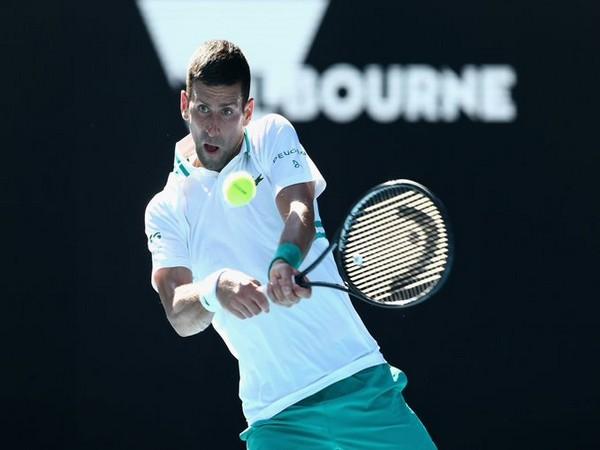 Serbian tennis star Novak Djokovic (Photo/ Australian Open Twitter)