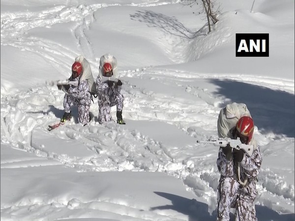 India Army undergoing training at HAWS