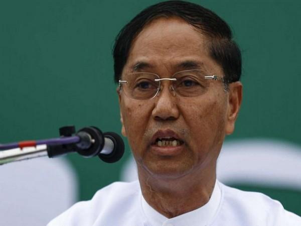 Myanmar first Vice-President Myint Swe