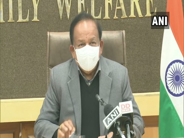 Union Minister of Health and Family Welfare Dr Harsh Vardhan (Photo/ANI)