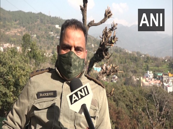 Rakesh Sharma, wildlife range officer, Udhampur in conversation with ANI. (Photo/ANI)