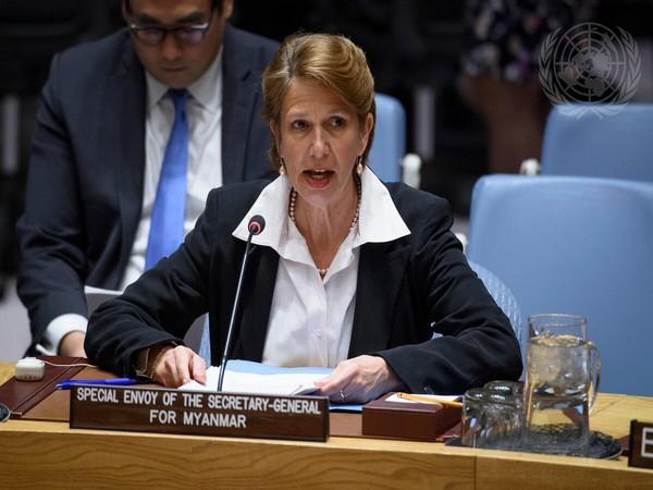 UN Special Envoy for Myanmar Christine Schraner Burgener