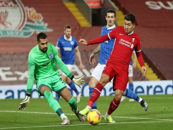 Liverpool's Robert Firmino in action against Brighton. (Photo/ Liverpool Twitter)